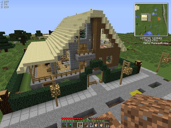 Дома в, minecraft - Картинки, minecraft